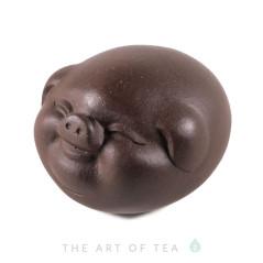 Фигурка Свинка 177, глина, 6 см