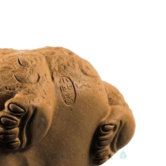 Фигурка Желтая Жаба 167, глина