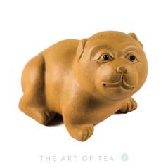 Фигурка Собака 202, глина, 7,5 см