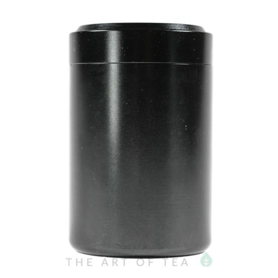 Баночка алюминиевая, черная, 4,5*7 см