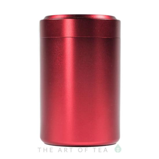 Баночка алюминиевая, красная, 4,5*7 см
