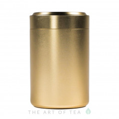 Баночка алюминиевая, золотая, 4,5*7 см