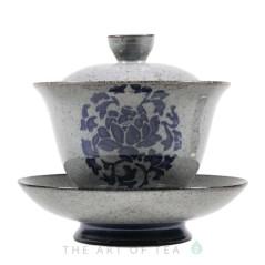 Гайвань Синий цветок, глина, 185 мл