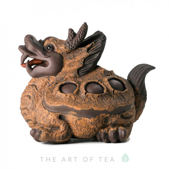 """Чайная фигурка """"Добрый Дракон"""", исинская глина"""