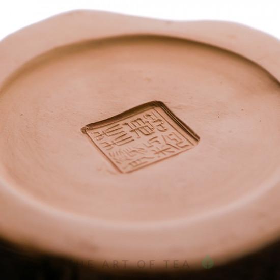 """Чайник из исинской глины """"Лес"""", кинцуги, 140 мл"""