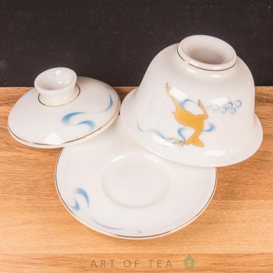 Набор посуды S80, Золотой олень, 9 предметов