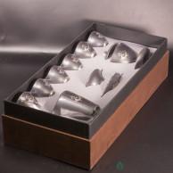 Набор посуды S76, Серебряный дракон, 9 предметов