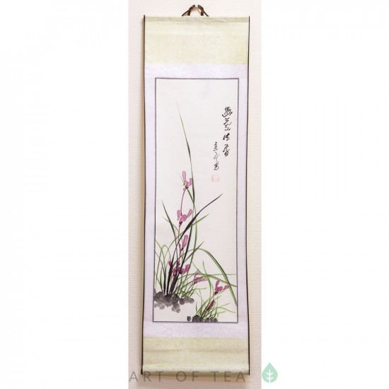 """Свиток """"Горная орхидея"""", малый"""