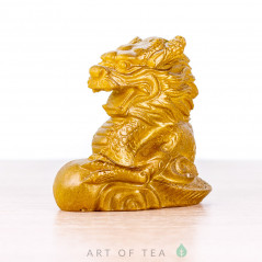 Фигурка Золотой Дракон, малый, меняет цвет