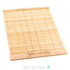 Циновка Карп на волне, бамбук, 28*19 см