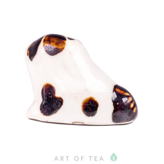 Фигурка Антикварная собака, фарфор, глазурь