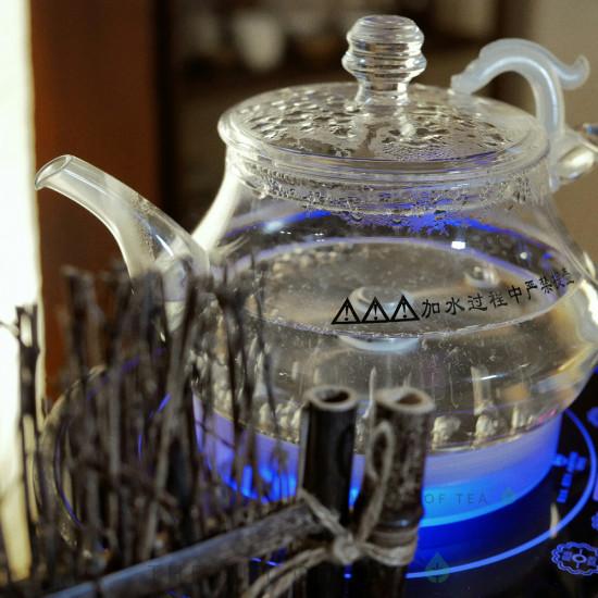 Электрочайник Master с подачей воды, стекло, 1000W