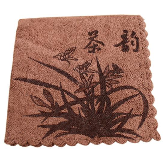 """Чайное полотенце """"Иероглиф"""", 30*30 см"""