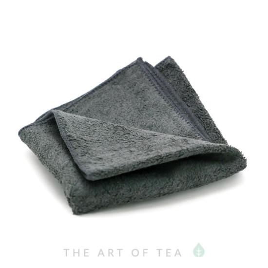 """Чайное полотенце """"Серое"""", большое, 30*55 см"""