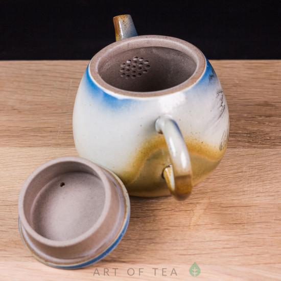 Чайник 154, керамика, ручная роспись, 150 мл