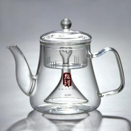 Чайник-сифон для варки чая, огнеупорное стекло, 1000 мл