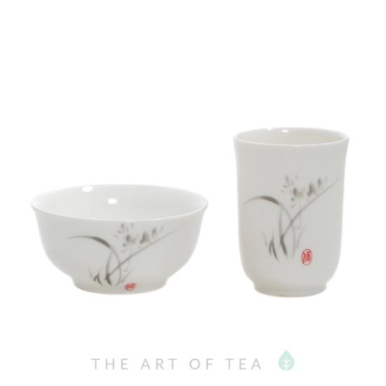 Чайная пара Серый Тростник, Тайвань, 50 мл