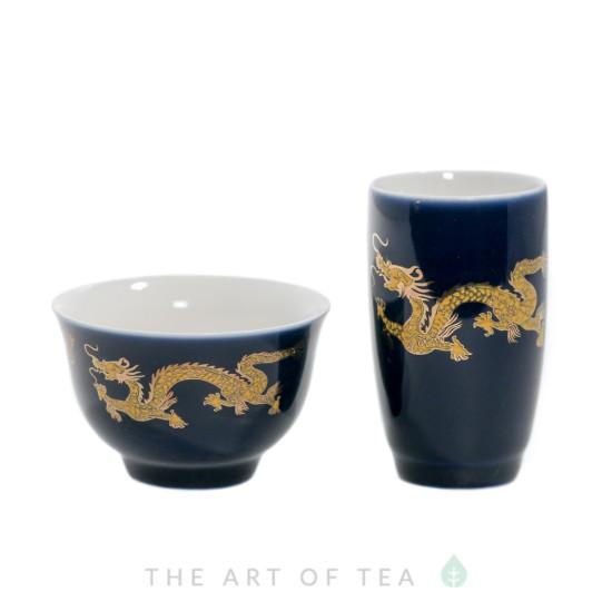 Чайная пара Темный Дракон, Тайвань, 60 мл