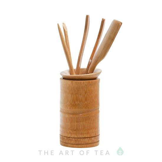 Инструменты для чайной церемонии #9, бамбук