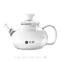 """Чайник для воды """"Шар"""", огнеупорное стекло, 1200 мл"""