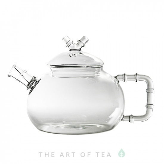 """Стеклянный заварочный чайник """"Бамбук"""", 600 мл"""