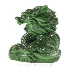 Чайная фигурка Нефритовый Дракон, малый, меняет цвет