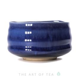 Тяван, чаша для матча, синий