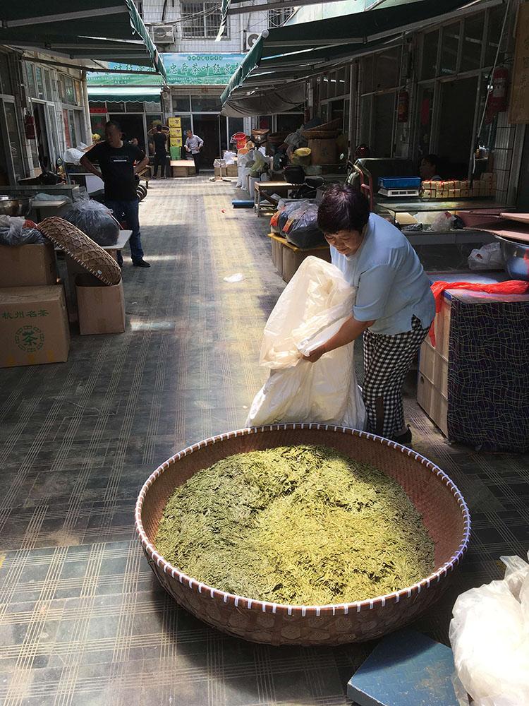 Чайный рынок в Ханчжоу
